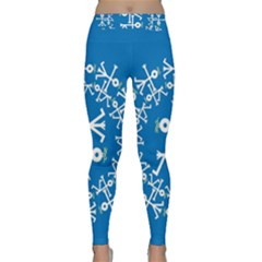 Birds And Olive Branch Circle Icon Yoga Leggings
