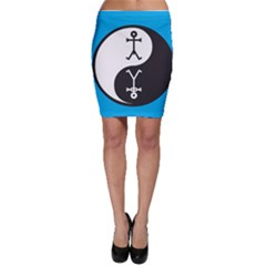 Yin And Yang Icon  Bodycon Skirts