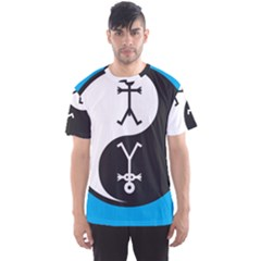 Yin And Yang Icon  Men s Sport Mesh Tees