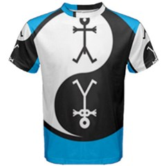 Yin And Yang Icon  Men s Cotton Tees