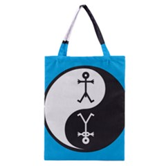 Yin And Yang Icon  Classic Tote Bags