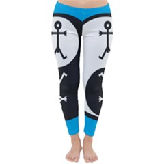 Yin And Yang Icon  Winter Leggings