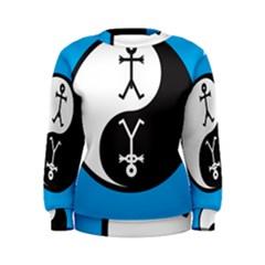 Yin And Yang Icon  Women s Sweatshirts