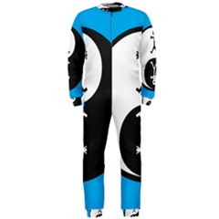 Yin And Yang Icon  OnePiece Jumpsuit (Men)