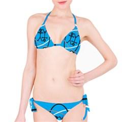 Life Icon  Bikini Set