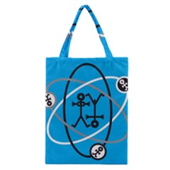 Life Icon  Classic Tote Bags