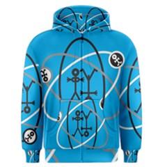 Life Icon  Men s Zipper Hoodies