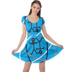 Life Icon  Cap Sleeve Dresses