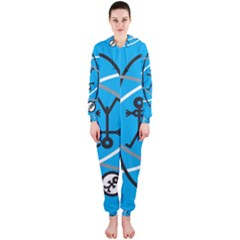 Life Icon  Hooded Jumpsuit (Ladies)