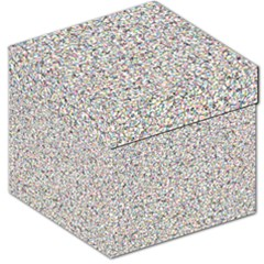 Crowd Icon Random Cmyk Storage Stool 12
