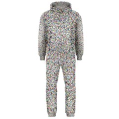 Crowd Icon Random Cmyk Hooded Jumpsuit (Men)