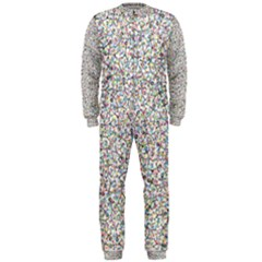 Crowd Icon Random Cmyk OnePiece Jumpsuit (Men)
