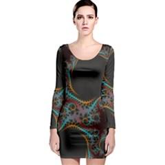 Dream in Fract Long Sleeve Bodycon Dresses