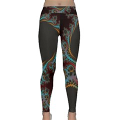 Dream In Fract Yoga Leggings