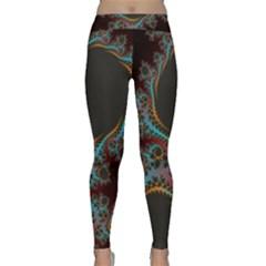 Dream in Fract Yoga Leggings
