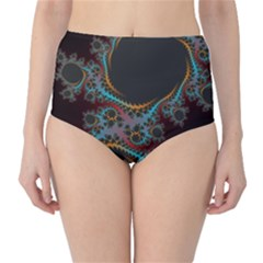 Dream In Fract High Waist Bikini Bottoms