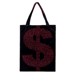 Dollar People Icon Classic Tote Bags