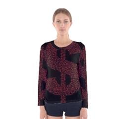 Dollar People Icon Women s Long Sleeve T-shirts