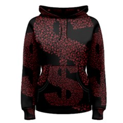 Dollar People Icon Women s Pullover Hoodies