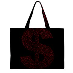 Dollar People Icon Zipper Tiny Tote Bags