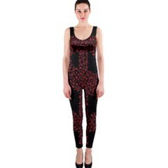 Dollar People Icon OnePiece Catsuits