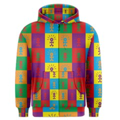 Multi Coloured Lots Of Angry Babies Icon Men s Zipper Hoodies