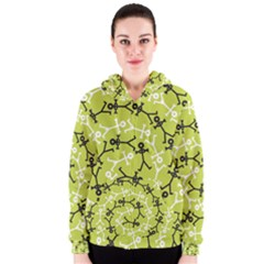 Spiral Icon Women s Zipper Hoodies