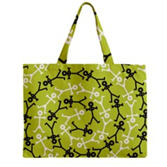 Spiral Icon Zipper Tiny Tote Bags