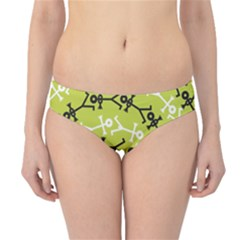 Spiral Icon Hipster Bikini Bottoms