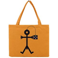 Video Gaming Icon Tiny Tote Bags
