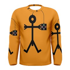 Video Gaming Icon Men s Long Sleeve T-shirts