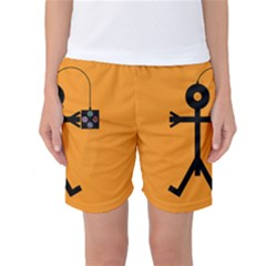 Video Gaming Icon Women s Basketball Shorts