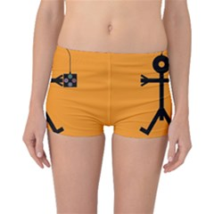 Video Gaming Icon Boyleg Bikini Bottoms