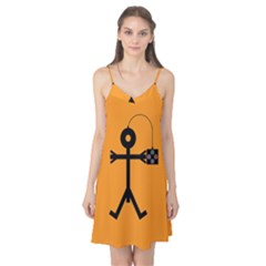 Video Gaming Icon Camis Nightgown