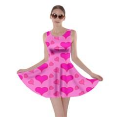 Hearts Pink Skater Dresses