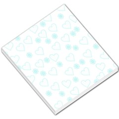 Flowers And Hearts Small Memo Pads