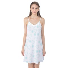 Flowers And Hearts Camis Nightgown