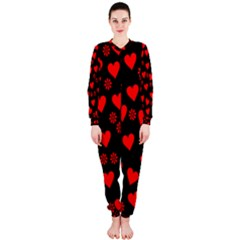 Flowers And Hearts OnePiece Jumpsuit (Ladies)