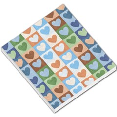 Hearts Plaid Small Memo Pads