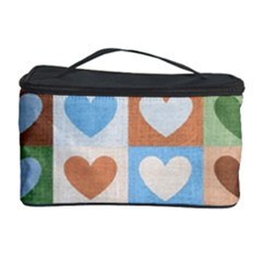 Hearts Plaid Cosmetic Storage Cases