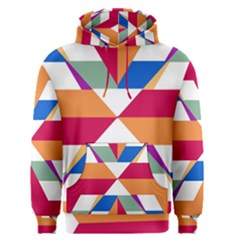 Shapes in triangles Men s Pullover Hoodie