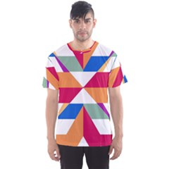 Shapes in triangles Men s Sport Mesh Tee