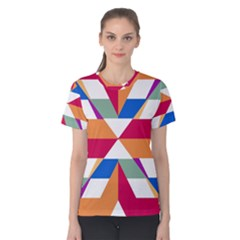 Shapes in triangles Women s Cotton Tee