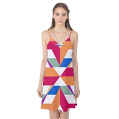 Shapes In Triangles Camis Nightgown