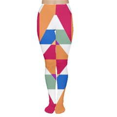 Shapes in triangles Tights