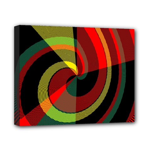 Spiral Canvas 10  x 8  (Stretched)