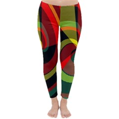 Spiral Winter Leggings