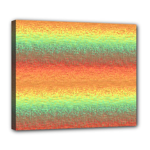Gradient chaos Deluxe Canvas 24  x 20  (Stretched)