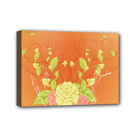 Beautiful Flowers In Soft Colors Mini Canvas 7  x 5