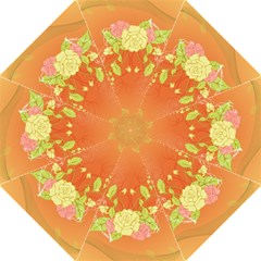 Beautiful Flowers In Soft Colors Straight Umbrellas